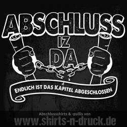 Abschluss Sprüche-Thank God It´s over
