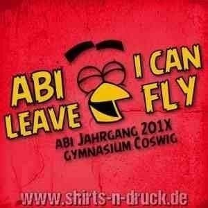 Abishirts-Abi leave i can fly