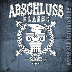 Abschluss Shirt-Graduates Evolution