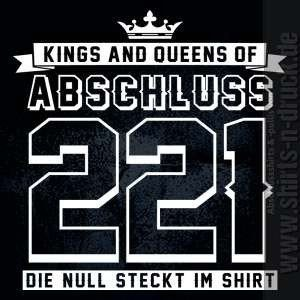 Abschluss Sprüche-Kings and Queens of