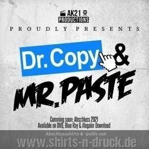 Abschluss T Shirts Doktor Copy und Mister Paste www.shirts ...