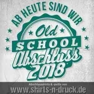 Abschluss T Shirts-Old School