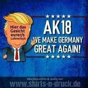 Abschlussmotto-Germany great again