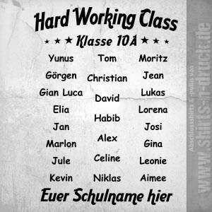 Abschluss Sprüche Alt 976 Hard Work Von Wwwshirts N Druckde