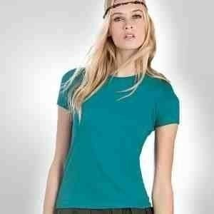 Rundhals Shirt-Ladies T Shirt Exact 150